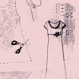 Dressmaking (pink) Simple Pleasures